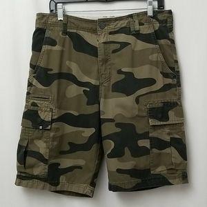 Billabong Men's Camo Shorts Size 32